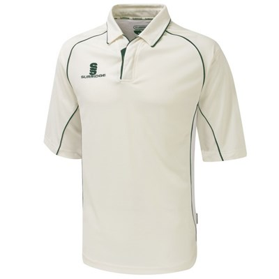 Surridge Boys Kids Sports Premier Shirt 3/4 Polo Shirt