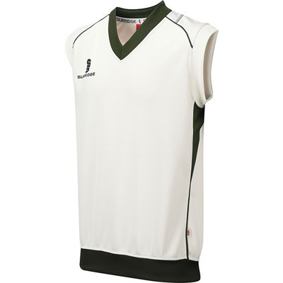 Surridge Mens Fleece Lined Sleeveless Sweater / Sports / Cricket