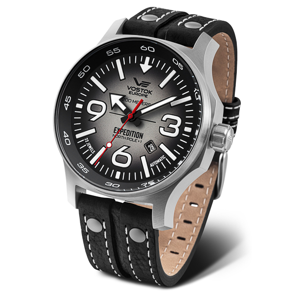 Image of Vostok Europe Gents Expedition N1 Seiko Automatic Watch with Genuine Leather Strap