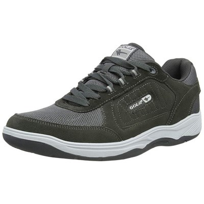 Gola Mens Belmont Suede Leather Wide Fit Trainer