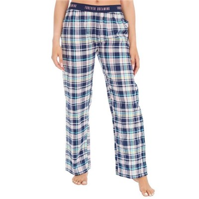 Forever Dreaming Womens/Ladies Check Lounge Pants