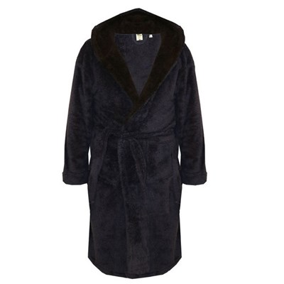 Duke Mens Newquay Hooded Dressing Gown
