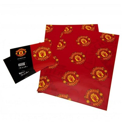 Manchester United FC Gift Wrap (2 Sheets)