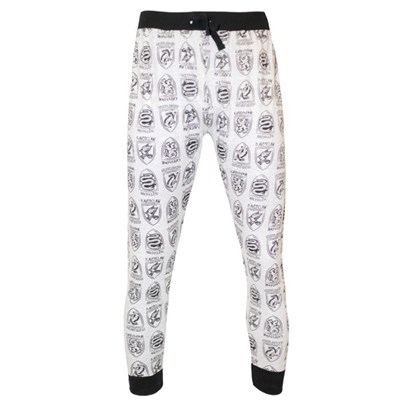 Harry Potter Mens House Crest Lounge Trousers