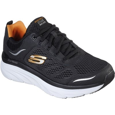 Skechers Mens DLux Walker Lace Up Sports Leather Trainer