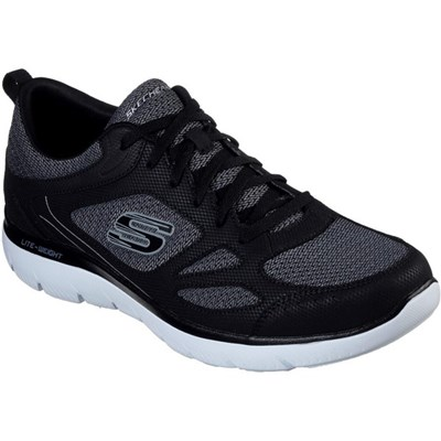 Skechers Mens Summits South Rim Leather Trainers