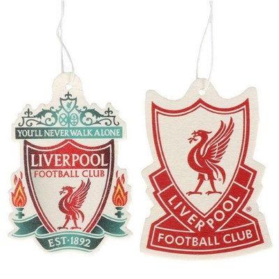 Liverpool FC Air Freshener (Pack of 2)