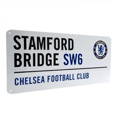 Chelsea FC Official Street Sign