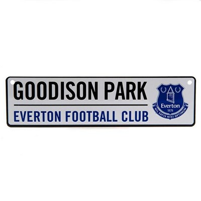 Everton FC Official Window Street Sign