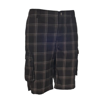 Trespass Mens Commerson Checked Casual Long Length Shorts