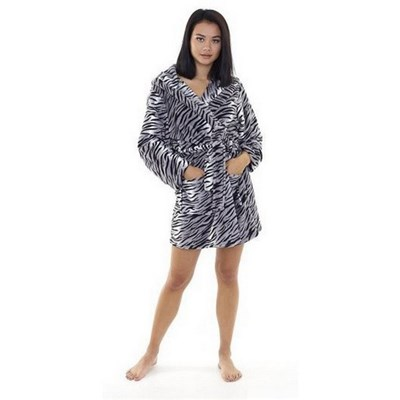 Brave Soul Womens Tiger Dressing Gown