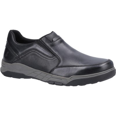 Hush Puppies Mens Fletcher Leather Shoes