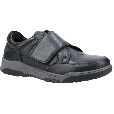 Hush Puppies Mens Fabian Leather Shoes