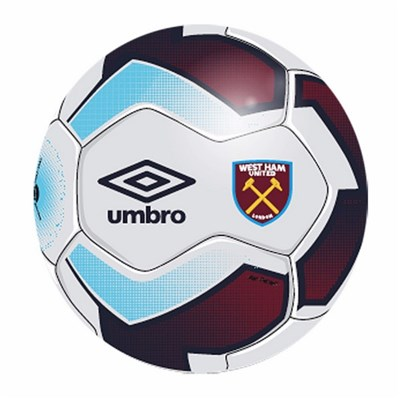 West Ham United FC Official Umbro Football (Size 5)