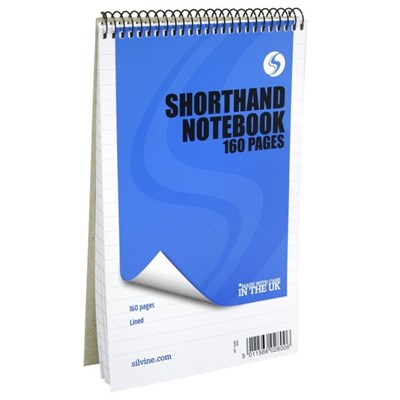 Silvine Shorthand Notebook (Pack of 12)