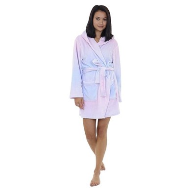 Brave Soul Ladies/Womens Unicorn Hooded Dressing Gown