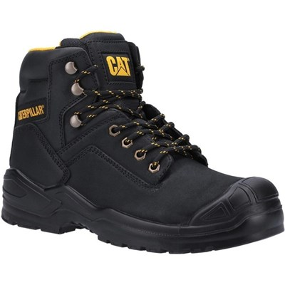 Caterpillar Mens Striver Mid S3 Leather Safety Boots
