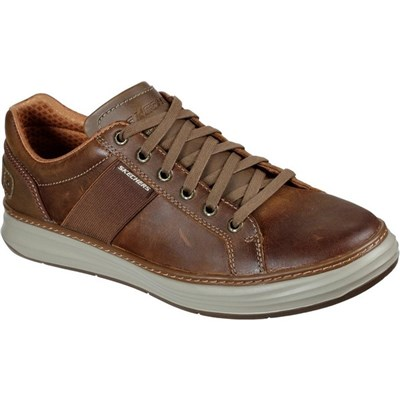 Skechers Mens Moreno Winsor Oiled Leather Casual Shoes