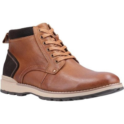 Hush Puppies Mens Dean Leather Boots