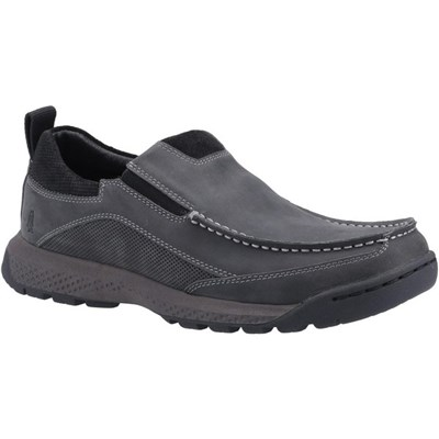 Hush Puppies Mens Duncan Leather Shoes