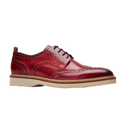 Base London Mens Marcello Leather Brogues