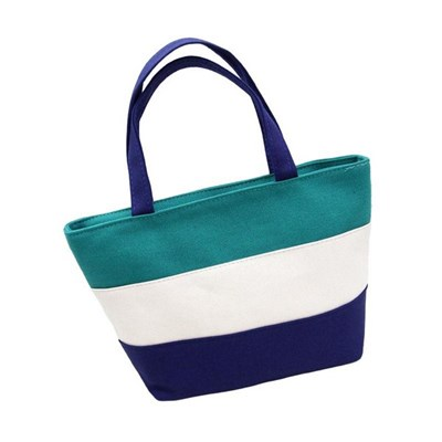 Small Square Bag Canvas Mommy Bag Mother And Baby Bag Go Out Mommy Bag Small Female Hand Carry Lunch Box Bag - Style 4