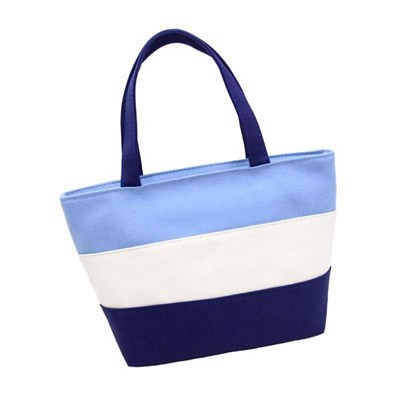 Small Square Bag Canvas Mommy Bag Mother And Baby Bag Go Out Mommy Bag Small Female Hand Carry Lunch Box Bag - Style 6