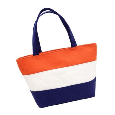 Small Square Bag Canvas Mommy Bag Mother And Baby Bag Go Out Mommy Bag Small Female Hand Carry Lunch Box Bag - Style 7