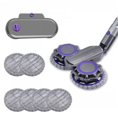 EI Contente Electric Wet Dry Mopping Head Dyson V6 V7 V8 V10 V11 Vacuum Cleaner Accessories With Water Tank
