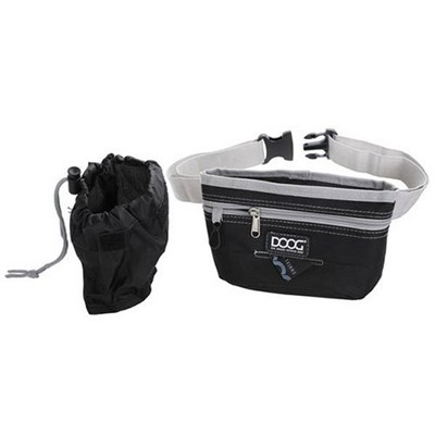 Doogs Good Dog Treat pouch, black (Large)