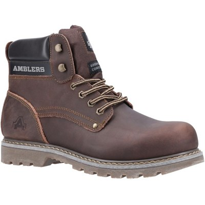 Amblers Mens Dorking Casual Lace Up Boot Brown 19515
