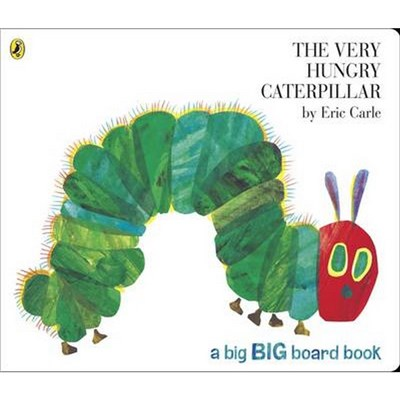 The Very Hungry Caterpillar Big Board B by Eric Carle. (2011)