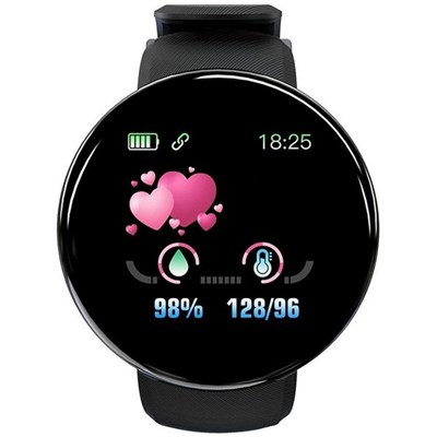 EI Contente Smart Watch Waterproof Fitness Watch With Heart Rate Blood Pressure Monitor For Android iOS