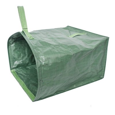 Silktaa Large-capacity Gardening Branches and Leaves Cleaning Bag, Uncovered Garbage Bag