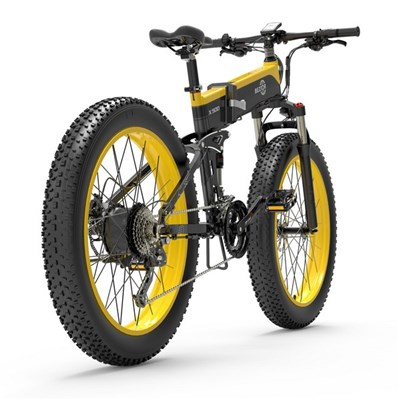 Bezior-X500 Foldable Portable Electric Mountain Bike, 48V12.8Ah Battery, 500W Motor Power, 26-Inch Wheels, Speed Up To 40Km/H, Climbing 30.(
