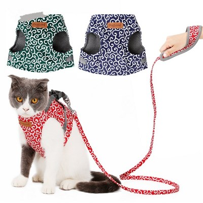 Cat Rope. Cat Wiring Harness. Cat Chest Strap. An Artifact For Walking The Cat. Prevent The Cat From Escaping From The Cat Rope. L (130*42*68)