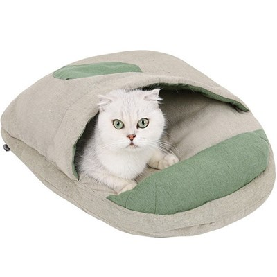 Cat Litter. Cat Sleeping Bag. Machine Washable Cat Bed. Use A Pillow Pet Nest To Keep Warm In Winter.