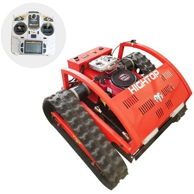 Robot Lawn Mower. 4-Stroke. Hybrid Of Oil And Electricity. The Remote Control Range Can Control A Radius Of 200 Meters. Weeding 2000 Square Meters