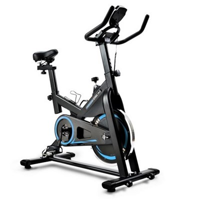Cardio Training Exercise Bike With Lcd Console And 10 Kg Flywheel, Adjustable Seat And Handlebar