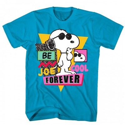 Peanuts Snoopy Dog Be Joe Cool Forever T-Shirt